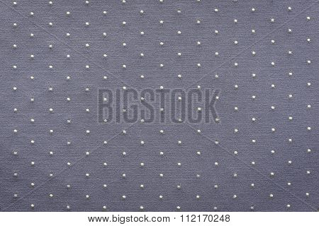 Thin Knitted Fabric Of Gray Lilac Color With Blond Specks