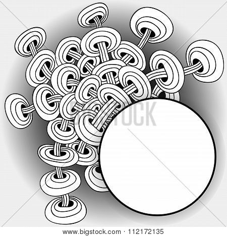Background With Abstract Patterns
