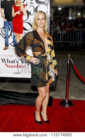 LOS ANGELES, USA - Marley Shelton at the Los Angeles Premiere of