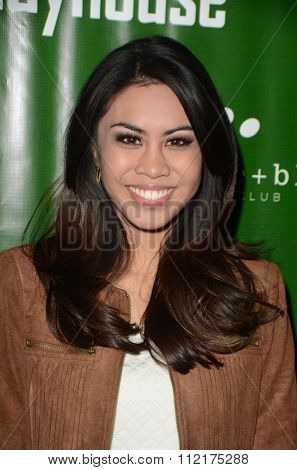 LOS ANGELES - DEC 9:  Ashley Argota at the