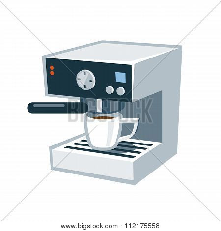 Isolate Coffee Machine