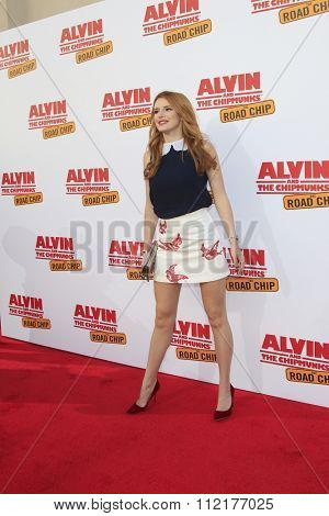 LOS ANGELES - DEC 12:  Bella Thorne at the