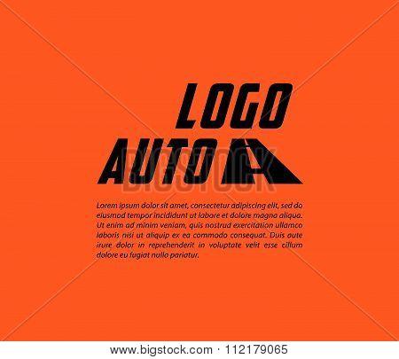 Auto service logo.