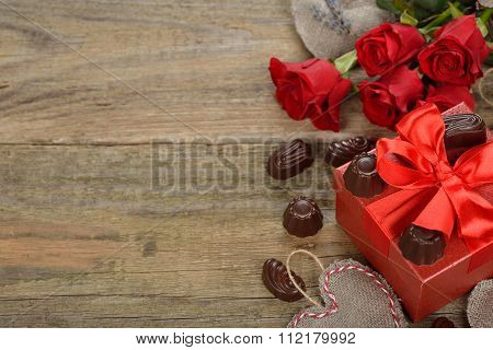Red Box And Chocolates