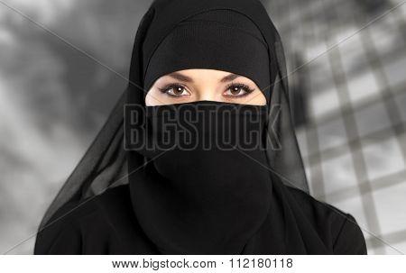 Niqab.
