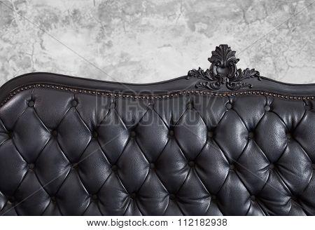 leather backrest