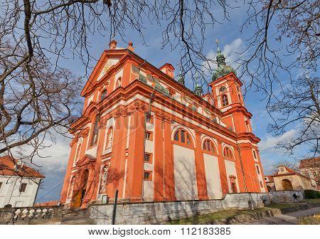 Church The Assumption Of Mary (1623) In Stara Boleslav, Czech