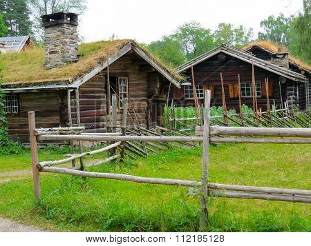 Norwegian ethnographic village