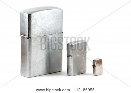 Three Lighters With Cap Closed