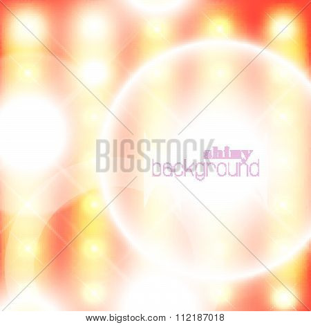 Vector abstract shining background.