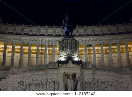 Vittorio Emanuele Ii Equestrian Statue