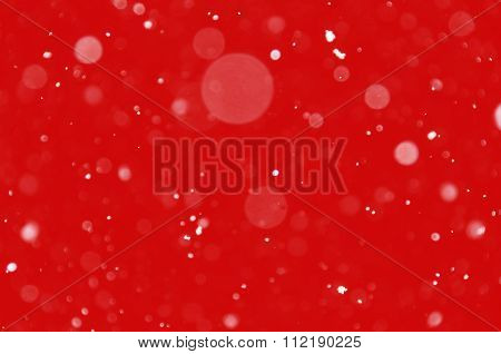Snow Blur Christmas Background