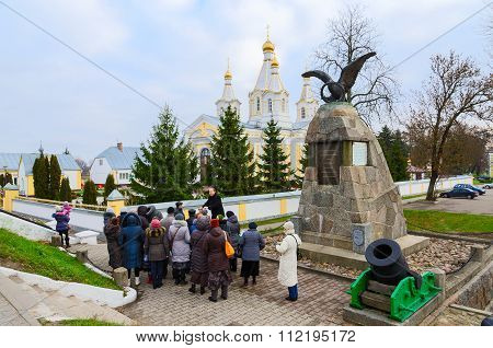 Monument In Honor Of Victory In War Of 1812 In Kobrin, Belarus