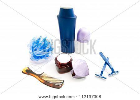 Deodorant, Cream, Wisp And Razor