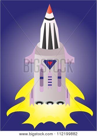 the big rocket