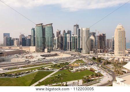 Doha Diplomatic Area, Qatar