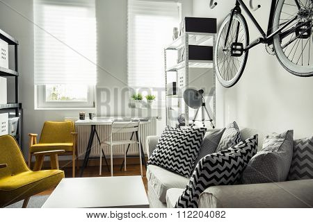 Trendy Hipster's Space