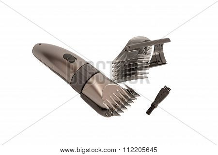 Electronic Collection - Closeup Of Hairclipper