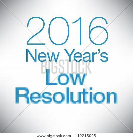 New Year's Resolution graphic