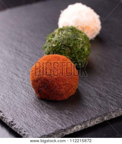Appetizer, Cheese Balls
