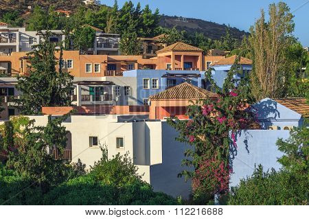 Traditional real estate of Crete