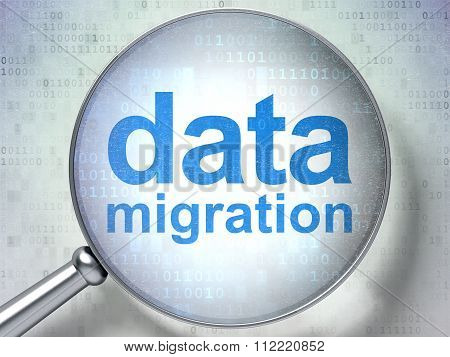 Information concept: Data Migration with optical glass