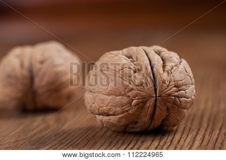 The Walnuts On The Tree