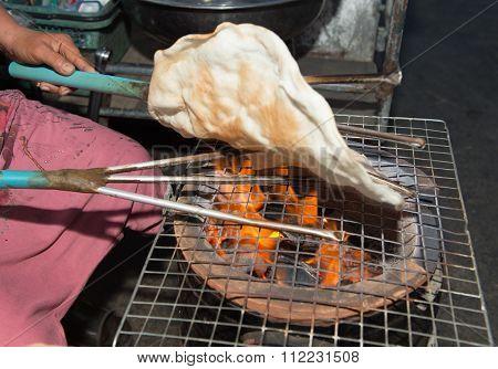 Kite Crisp Rice Thailand Ancient Dessert