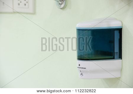 Automatic Soap Dispenser On The Wall