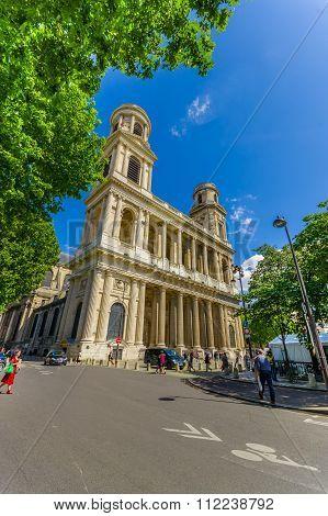 Church of Saint-Sulpice, Paris, France