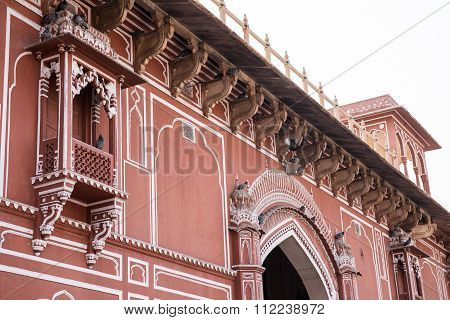 Fascinating Architecture in Chandra Mahal