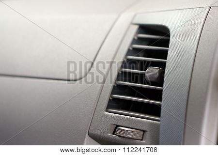 Car Accessories Ducting Air Conditioning. Air Conditioner In Compact Car