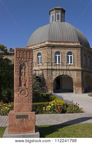 Armenian Cross Stones In Echmiadzin Territory