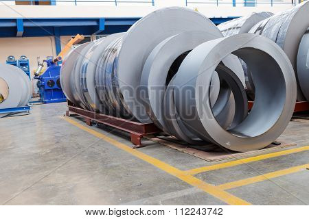 Rolls Of Metal Sheet  For Production