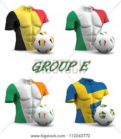 Group E European Football 2016