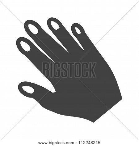 Nailpolish on Hand