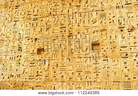 The Hieroglyphs Of Ancient Egypt