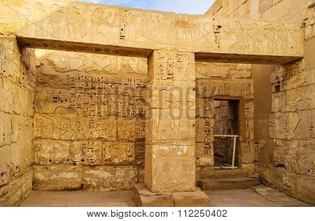 The Chambers In Habu Temple