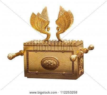 Vintage Gold Chest