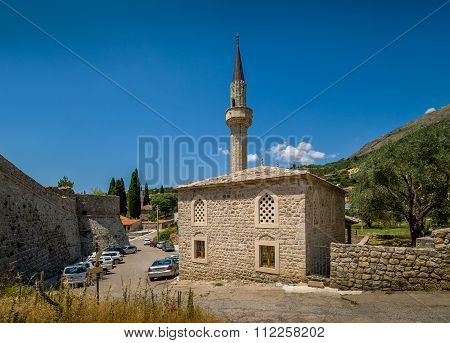 Old mosque and fortress of Bar town walls