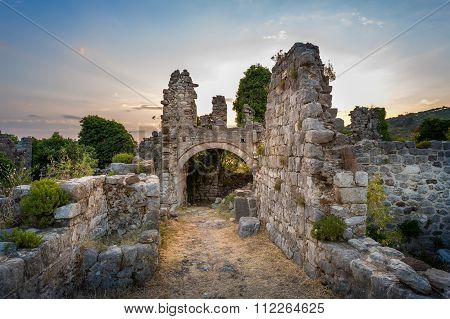 Ruins of Stari Bar fortress