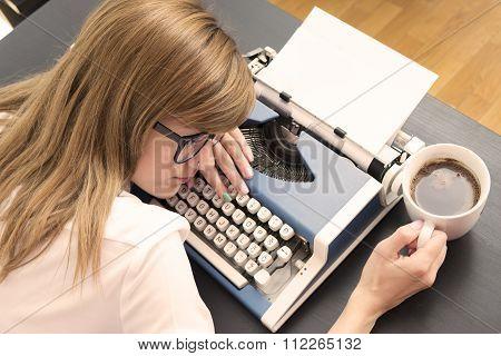 Tired writer