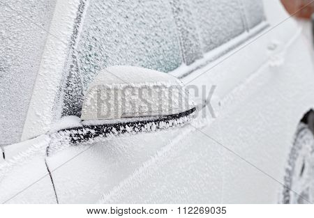 Iced Car  Window