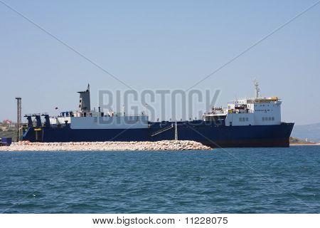 Cargo tanker ship