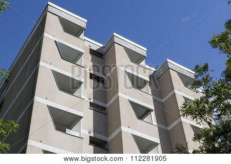 Public Housing  In Berlin Kreuzberg