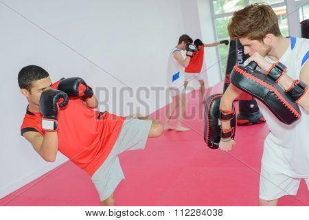 kickboxing class