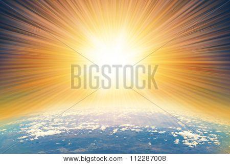 Asteroid deep impact