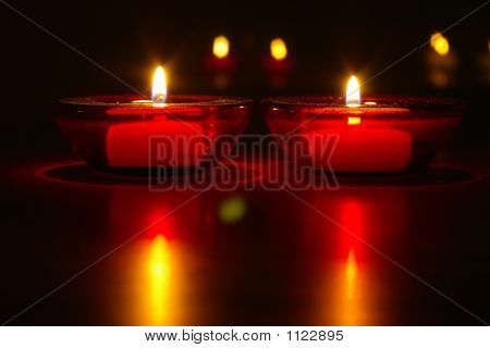 Nighttime Candles