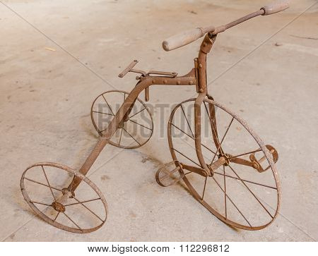 An Old Children's Tricycle 1930