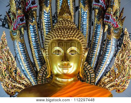Buddha's statue, Wat Pho Temple
